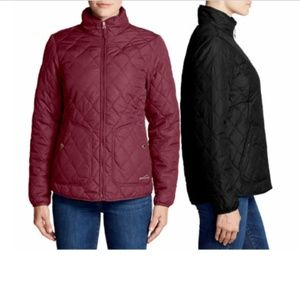 Eddie Bauer Women's Quilted Mod Jacket Water Repel